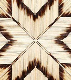 Winter craft idea: Matchstick star