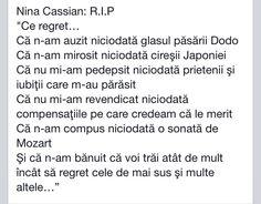 Nina Cassian Words, Horse