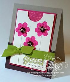 Very pretty handmade card!