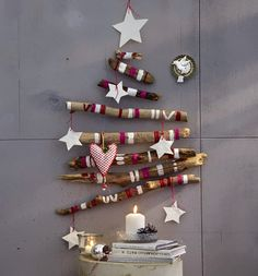 Wooden Christmas Tree | ... more inspiration for a wooden Christmas tree , see following images