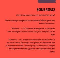 Idées massages visage bébé pour le détendre, le calmer, l'endormir #massages #bebes #visage #détente #astuce #conseil