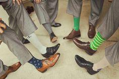 Groomsmen and fun socks
