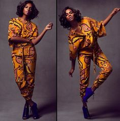 Tika Sumpter in a gorgeous jump suit!