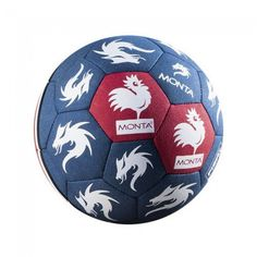 Balón Monta StreetMatch Leghorn Ball - Azul Rojo Balones 5fedbe0c3154d