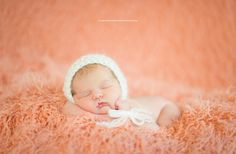 Simply Mohair Baby Bonnet Hat White | Beautiful Photo Props