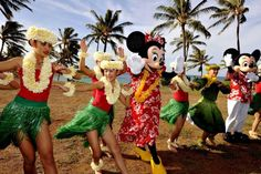 Children from Oahu teach Minnie and Mickey Mouse...one day with Jalen