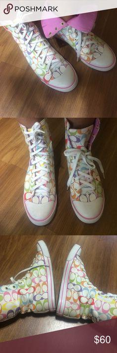 Coach shoes Nice  shoes,size 8B Coach Shoes Sneakers