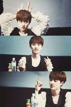 Kyungsoo Exo ... YES! i am right! he is just a squishy baby wolf! <3 :3