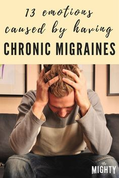 13 Emotions Caused by Possessing Chronic Migraine headaches If you receive migraines or find out someone who does, go through this. It is a extremely precise post and this internet site offers very helpful and exciting migraine articles. Migraine Diet, Migraine Pain, Chronic Migraines, Migraine Relief, Chronic Pain, Chronic Illness, Headache Diet, Endometriosis, Migraine