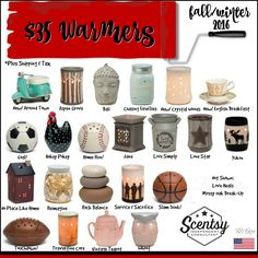 SCENTSY - Fall/Winter 2016 HOME - Warmers - USD Flyer By: Brittany McKee (Gerrity) Admin Of: No-Nonsense Canadian Flyers Sharing Group on Facebook www.brittanygerrity.scentsy.ca
