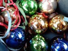 Christmas decorations from Petersham Nurseries
