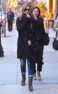 Flawless Jennifer Aniston est plus chaud que jamais à New York