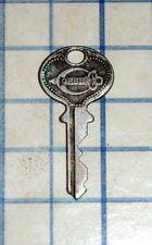 Antique Vtg old Union Lock Co No DR4 skeleton key cabinet barrel ...
