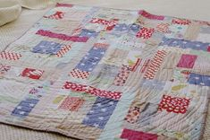 a small quilt for a little girl