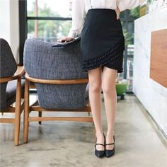 Buy 'Styleberry – Lace-Trim Pencil Skirt' with Free International Shipping at YesStyle.com. Browse and shop for thousands of Asian fashion items from South Korea and more!