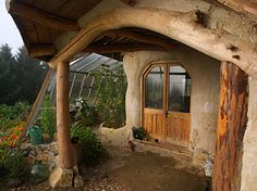 "The coolest house ever.  Hobbit Hole, here we come.  what are the chances we could get a year off ""work"" and build this home? . . ."