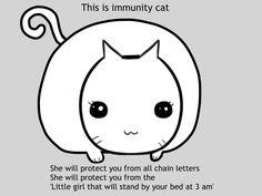 Immunity cat (: