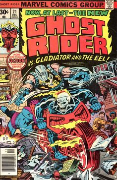 Cover for Ghost Rider (Marvel, 1973 series) #21 December 1976