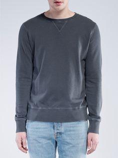 Sven Organic Washed Down Black - Nudie Jeans
