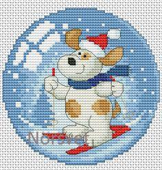 Gallery.ru / Шар.Лыжник 1 - Новогоднее - Norsvet