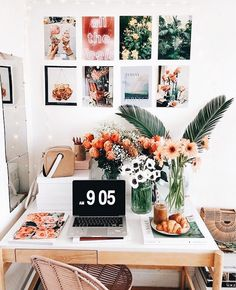 Room Goals - Bright Idea - Home, Room, Furniture and Garden Design Ideas My Room, Dorm Room, Uo Home, Decoration Inspiration, Decor Ideas, Decorating Ideas, Room Goals, Aesthetic Rooms, Home And Deco