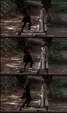 monty python and the holy grail beotch