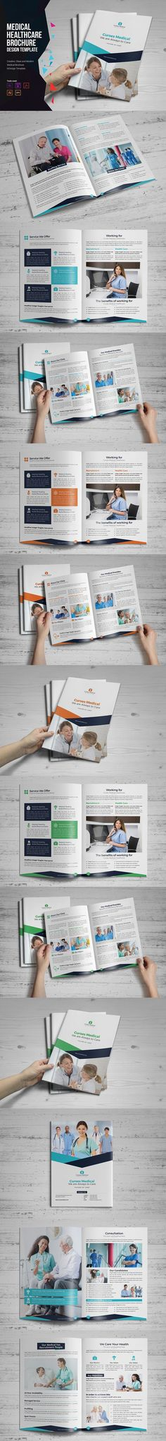 BUNDLE 50 OFF 3 PSD Business Flyers Business flyers, Flyer - healthcare brochure