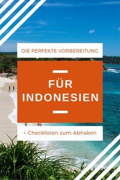 Du hast dich für einen Urlaub in Indonesien entschieden? Wunderar! Dann geht es jetzt an die Indonesien Reisevorbereitungen. Ob nach Bali, Lombok, Java, Sulawesi, Sumatra oder Flores – in diesen Vorbereitungs-Guide findest du alle wichtigen Punkte, die du vor deiner Indonesienreise erledigen solltest. #indonesienreisevorbereitungen #indonesientipps #indonesienbackpacking #indonesienpackliste