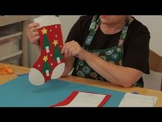 How to Make a Homemade, Felt Christmas Stocking : Christmas Crafts DIY