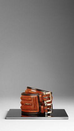 Framed Suede Waist Belt | Burberry