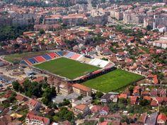 Stadionul Iuliu Bodola-Oradea.