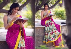 beautiful saree...but not too mad about the blouse