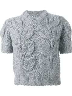 Shop Maison Margiela shortsleeved chunky sweater  in O' from the world's best independent boutiques at farfetch.com. Shop 300 boutiques at one address.