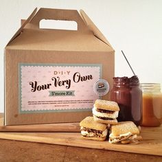 14 best diy cookie kits images on pinterest christmas presents your very own diy smore kit by smore bakery solutioingenieria Choice Image