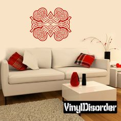 Celtic Wall Decal - Vinyl Decal - Car Decal - DC 8286