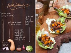 Again, the photography and design her is worth mention. Can't wait for the late summer harvest! // Lentil Lettuce Cups by The Forest Feast