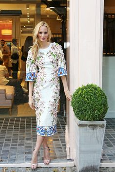 Lauren Santo Domingo Best Dressed Dolce & Gabbana Sept 2014