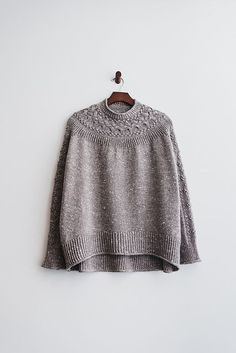 Ravelry: amijjang's Bright Sweater - pattern by Junko Okamoto knit Acadia from The Fibre Co. Sweater Knitting Patterns, Knit Patterns, Fair Isle Knitting, Hand Knitting, Knitting Machine, How To Purl Knit, Ravelry, Knit Or Crochet, Knitwear