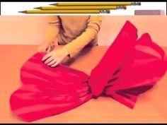 как сделать из бумаги ОГРОМНЫЙ ЦВЕТОК , красивый цветок из бумаги - YouTube