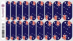 Jamberry Nails | Australia Fair ^_^ I so Need some of these for January ;)