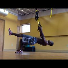 TRX in the NFL. LOVE TRX. So many different things you can do with it. Photo courtesy of TRX