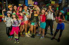 Os alunos em A Melhor Dança.