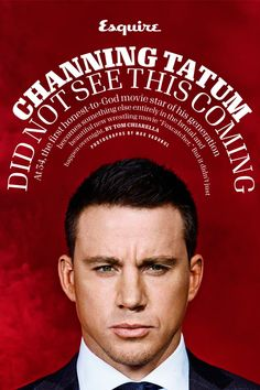 Channing Tatum for Esquire Magazine by Max Vadukul
