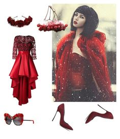 """""""Без названия #237"""" by verest ❤ liked on Polyvore featuring Casadei, Christian Pellizzari and Dolce&Gabbana"""
