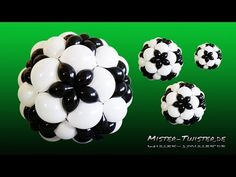 Balloon Football, Soccer Decoration, Ballon Fußball,Fussball Dekoration - YouTube