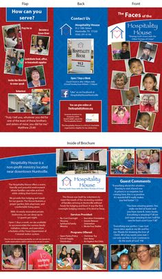 Fun little tri-fold brochure for Physcial Therapy ...