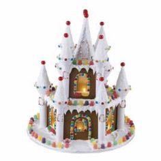 Illuminated Gingerbread Castle instructions!