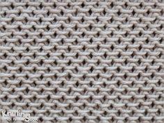 Flechtmuster – Muster stricken – basket weave – criss cross stitch – DIY by Nele… - Knitting Patterns Easy Knitting Patterns, Loom Knitting, Knitting Stitches, Free Knitting, Stitch Patterns, Crochet Patterns, Simple Knitting, Easy Stitch, Slip Stitch