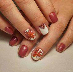Autumn Nails, Winter Nails, Gorgeous Nails, Pretty Nails, Cute Spring Nails, Nails Now, Fall Nail Art Designs, Fingernail Designs, Thanksgiving Nails