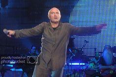 Concert photo by kimlilou Genesis Band, Phil Collins, Love Ya, Cool Websites, Album, Concert, Concerts, Card Book